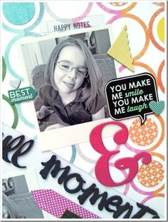 Wednesday with Ashley Horton… Hip Kit Club, You Make Me Laugh, Paper Cutting, I Laughed, Layout, In This Moment, Store, Amazing, Page Layout