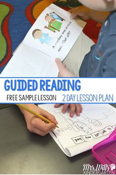 Guided Reading 2 Day Lesson Plans! How to plan an effective 2 day small group guided reading lessons. This post includes word work, sight word instruction, reading strategies, small group writing, sentence study and more! via @deedee_wills