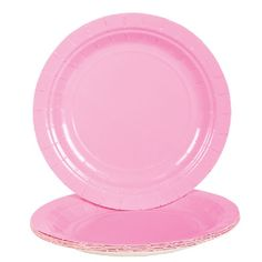 Light Pink Paper Plates (Bulk Pack of 25 Plates) at theBIGzoo.com, a family-owned store. Check our sales & FREE Shipping.