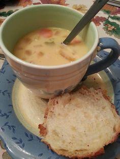 Crockpot Potato Ham Soup