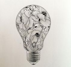 Love this drawing. Would be cool for a tattoo!