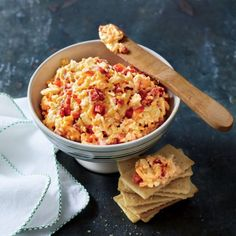 Recipes from the September Issue of Southern Living: Classic Pimiento Cheese