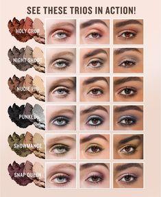 Smashbox Photo Edit Eye Shadow Trio - Summer Make-Up Dramatic Eye Makeup, Simple Eye Makeup, Smokey Eye Makeup, Eyeshadow Makeup, Natural Makeup, Eyeliner, Dramatic Eyes, Easy Makeup Looks, Rimmel Makeup