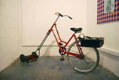 bicycle lawn mowers pictures - Google Search