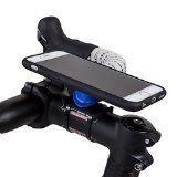 http://ift.tt/1LWoJKx Quad Lock Kit de support vélo pour iPhone 6 Noir/Bleu