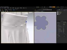 How to do some embellishing to your clothing using free sewing and copy to internal settings. also using particle distance