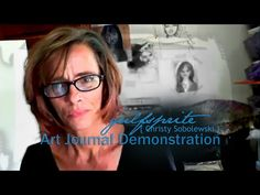 ▶ Art Journal Demonstration - Passion - YouTube