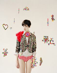 why do i love this? I think it's the sparkly jacket. maybe the cute underpants.