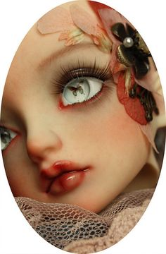 The eyes! #collectibles #crafts #dolls #ooak #artdoll