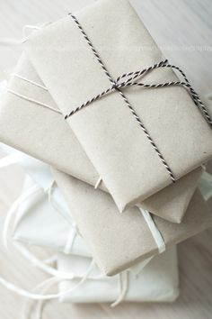 The perfect wrapping. Simplicity.