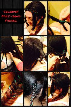 Monica_Veley2 #festivalhair #hairtutorial #coachellahair #sexyahir #howto #DYI #Concerthair