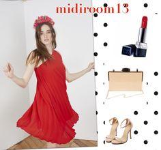 Vestido Daenerys rojo