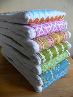 Designer Burp rags.