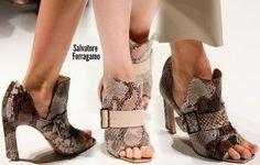 Milan Fashion Week Spring 2014 Shoes trends part 1