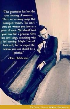 True gentleman-more reason to love Tom Huddleston