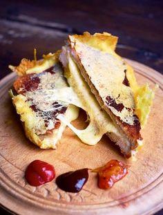 La cucina tradotta di Jamie: Il mio toast al formaggio