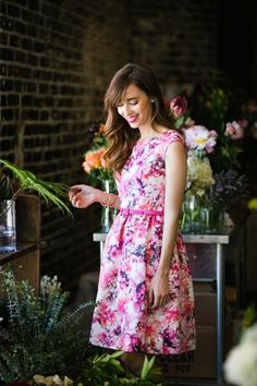 an afternoon at the flower shop | M Loves M