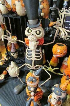 Halloween Folk Art by Melissa Valeriote: Halloween & Vine 2013