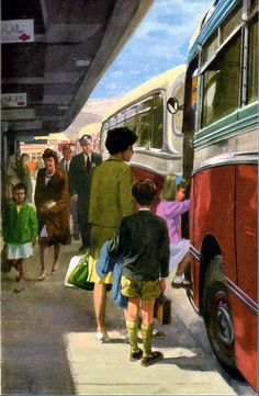 Illustration.by J H Wingfield.:  Happy Holidays, (Peter and Jane series) ,Ladybird Books