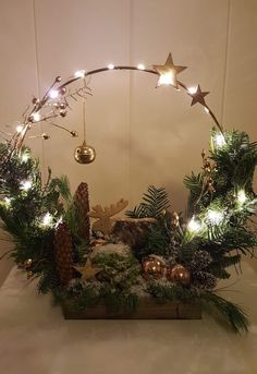 Rustic Christmas, Christmas Home, Christmas Holidays, Christmas Flowers, Christmas Wreaths, Christmas Ornaments, Xmas Crafts, Christmas Projects, Art Floral Noel