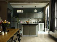 Aurelie Mathigot intérieur - Paris    #carreaux de ciment