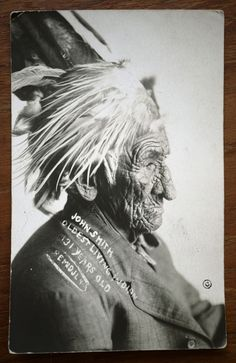 John Smith. Oldest Living Indian. 131 years old. The Wisdom, knowledge and History that man holds.... amazing.
