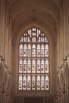 Bath Abbey, Bath, Somerset England #fineartweddings #church #england #wedding #stainedglass © beloved love photography www.belovedlovephotography.com