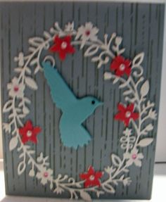 All occasion card made at a class with Jenny Griffiths who is a Memory Box team member.