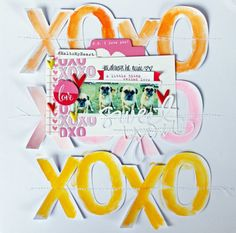 Art journal inspiration: Melissa Mann for Elle's Studio. She has such a fresh approach!