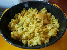 Q B Le ricette light: Riso al curry con pollo e zucchine