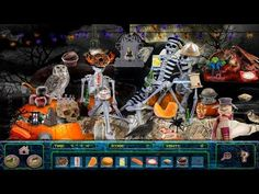 Download this fun free Halloween scary kids game. There are fun Halloween scenes…