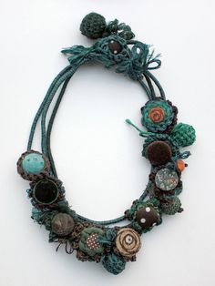 Handmade necklaces 2 in 1 by rRradionica on Etsy, €75,00