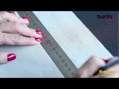 Швейная машинка. Урок 7: защипы - YouTube