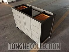 48'' freestanding gray bathroom vanity for USA client