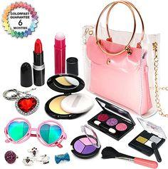 Little Girl Makeup Kit, Makeup Kit For Kids, Little Girl Toys, Kids Makeup, Baby Girl Toys, Little Girl Gifts, Toys For Girls, Princess Makeup, Princess Dress Up