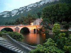 St. Antonin Noble Val, pont sur l'Aveyron