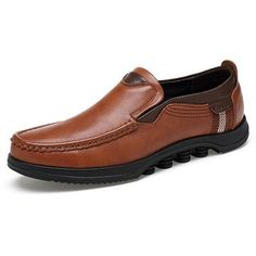 242e470ccf Men Large Size Cow Leather Slip On Soft Casual Shoes Cow Leather