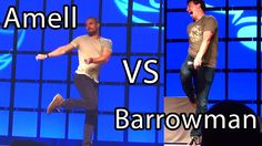 Youtube Nai Wang Arrow's John Barrowman and Stephen Amell both describe the same scene at two different panels at Phoenix Comicon. Footage spliced together to form one video describing a scene where they make their first encounter in Arrow as Oliver Queen and Malcolm Merlyn. Amell was chained up for a scene John did something to Stephen while he was helpless.