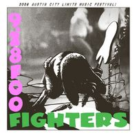 Foo Fighters Poster - Austin City Limits Music Festival, Austin - Jermaine Rogers
