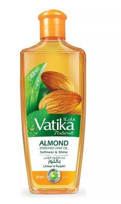 Vatika Almond Enriched Hair Oil   Softness & Shine   200ml