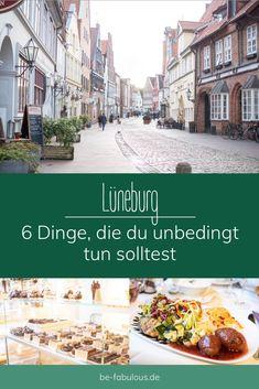 Lüneburg ist eine super schöne Altstadt im Süden von Hamburg und ich teile heute einen Spaziergang mit 6 tollen Dingen, die ich jedem empfehlen kann in Lüneburg zu tun mit euch! #lüneburg #deutschland #reisetipps #städtereise Super, Tricks, Group, Explore, World, Travel, Old Town, Persian Restaurant, One Day Trip