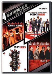 Amazon.com: 4 Film Favorites: Ocean's Collection (Ocean's 11 (1960), Ocean's Eleven (2001), Ocean's Twelve, Ocean's Thirteen): George Clooney, Brad Pitt, Frank Sinatra: Movies & TV