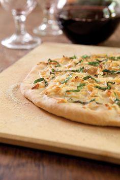 Roasted Garlic Focaccia at PaulaDeen.com