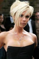 Victoria Beckham is among the celebrities who set the asymmetrical bob trend.