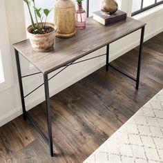 ClosetMaid gray standing desk