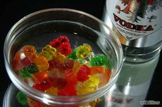 Soak gummy bears in vodka. Then eat the gummy bears. | 23 Shameless Ways To Get Drunk That Are Actually Brilliant