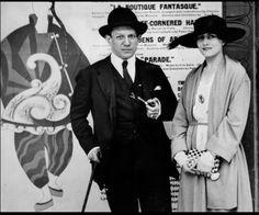 Pablo Picasso and Olga Khokholova London - 1919