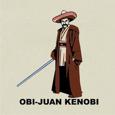 The force is strong with this Juan.