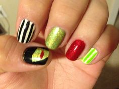 Wicked the musical nail art wickedly wonderful land of oz wicked the musical inspired nail art prinsesfo Image collections