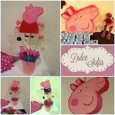 Cumple Peppa Pig. https://www.facebook.com/dulce.soffia